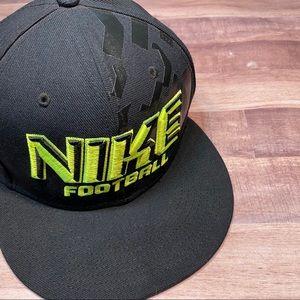 Nike football flat bill snap back hat